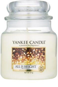 Yankee Candle Classic Medium Jar All is Bright 411g